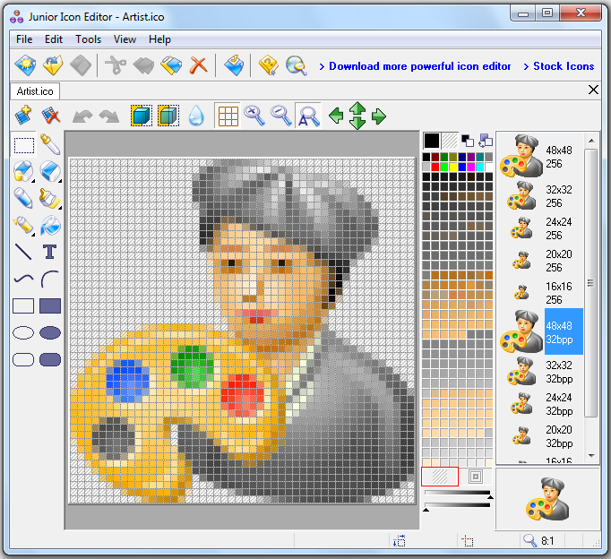 Download free icon maker software Paint software free download